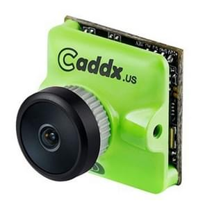 Caddx.us Turbo micro F2 mini 1200TVL 2.1 mm lens FPV kleuren camera met 1/3 inch CMOS sensor, NTSC/PAL veranderlijk (groen)