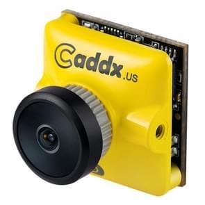 Caddx.us Turbo micro SDR2 mini 1200TVL 2.1 mm 160 graden groothoek lens FPV kleuren camera, NTSC/PAL veranderlijk (geel)