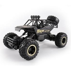 HD6026 1:12 grote legering klimmen auto berg Bigfoot Cross-Country vierwielaandrijving afstandsbediening auto speelgoed  grootte: 37cm (zwart)