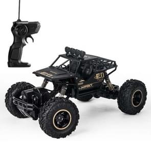 HD6026 1:16 grote legering klimmen auto berg Bigfoot Cross-Country vierwielaandrijving afstandsbediening auto speelgoed  grootte: 28cm (zwart)