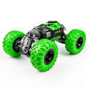 675E 1:16 2 4 GHz dubbelzijdig twisted Off-Road vierwielaandrijving klimmen afstandsbediening kinderen speelgoed auto  grootte: 33cm (groen)