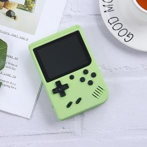 MK800 3.0 inch Macaron Mini Retro Classic Handheld Game Console for Kids Built-in 800 Games  Support AV Output (Groen)