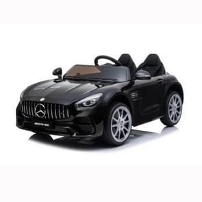 [Amerikaans pakhuis] Mercedes-Benz GT Car LZ-920 2.4G Wireless Remote Control Driving Children Toy Car with 3 Speed Modes & LED Lights & Horn & Seat Belt & AUX  Suitable for Ages: 3-5 Years Old(Black)