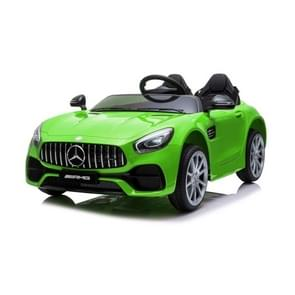 [Amerikaans pakhuis] Mercedes-Benz GT Car LZ-920 2.4G Wireless Remote Control Driving Children Toy Car with 3 Speed Modes & LED Lights & Horn & Seat Belt & AUX  Suitable for Ages: 3-5 Years Old(Green)