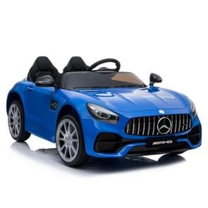[Amerikaans pakhuis] Mercedes-Benz GT Car LZ-920 2.4G Wireless Remote Control Driving Children Toy Car with 3 Speed Modes & LED Lights & Horn & Seat Belt & AUX  Suitable for Ages: 3-5 Years Old(Blue)