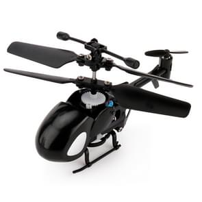 QINSONG QS5012 2CH Infrarood Mini RC Helicopter  grootte: 9 cm x 5 cm x 2 cm (zwart)