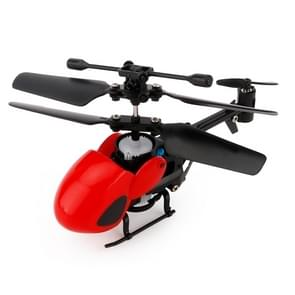QINSONG QS5012 2CH Infrarood Mini RC Helicopter  grootte: 9 cm x 5 cm x 2 cm (rood)
