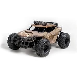 HELIWAY DM-1803 2.4GHz Four-way Remote Vehicle Toy Car with Remote Control & 480P HD WiFi Camera(Brown)