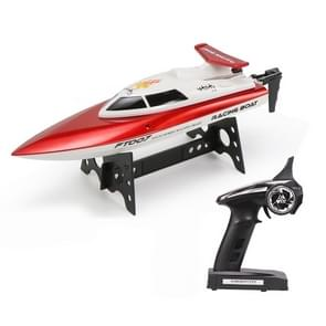 HELIWAY FT007 4-Channel 2.4GHz R/C Racing Boat Speed Boat Kids Toy with Remote Controller(Red)