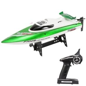 HELIWAY FT009 4-Channel 2.4GHz R/C Racing Boat Speed Boat Kids Toy with Remote Controller(Green)