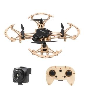 HELIWAY M2 DIY Building Wooden 4-Axis Quadcopter with Remote Control, Support  Headless Mode & Altitude Hold