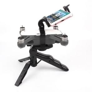 Hand Grip Handheld Gimbal Stabilizer Tripod Mount with Phone Clamp for DJI Shark(Black)