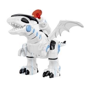 Elektrische mechanische bestrijding dinosaurus kinderen dinosaurus model speelgoed  ondersteuning wandelen & verlichting & geluid & start zachte Bullet