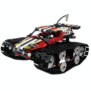MoFun 13023 DIY Assembled Electric Crawler High Speed Car 2.4G Four-way Remote Control Car(Red)