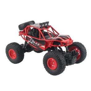 HD8851 1:20 1:20 Alloy Climbing Bigfoot Off-road Vehicle Model 2.4G Remote Control Vehicle Toys(Red)