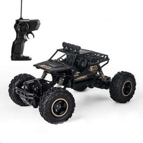 HD6141 1:16 Mountain-klimmen Bigfoot vier wiel kinderen op afstand bestuurbare off-road voertuig speelgoed (zwart)