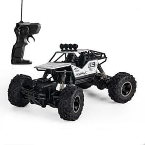 HD6141 1:16 Mountain-climbing Bigfoot Four-wheel Children Remote-controlled Off-road Vehicle Toy(Silver)