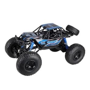 2837 1:10 Large High Speed Four-wheel Climbing Vehicle Model Bigfoot Monster Off-road Remote Control Racing Toy(Blue)