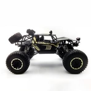 HD609 1:8 extra grote legering klimmen auto off-road afstandsbediening voertuig speelgoed (zwart)