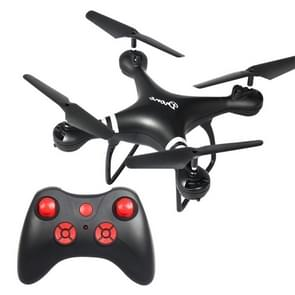 LanSenXi LF608 2.4G 4CH Foldable Wifi FPV Selfie RC Helicopter Drone Quadcopter, without Camera(Black)