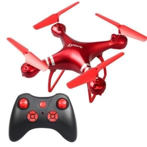 LanSenXi LF608 2.4G 4CH Foldable Wifi FPV Selfie RC Helicopter Drone Quadcopter, without Camera(Red)