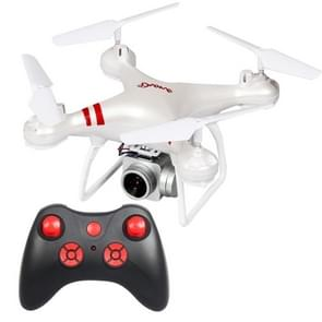 LanSenXi LF608 2.4G 4CH 200W High Definition Aerial Foldable Wifi FPV Selfie RC Helicopter Drone Quadcopter (White)