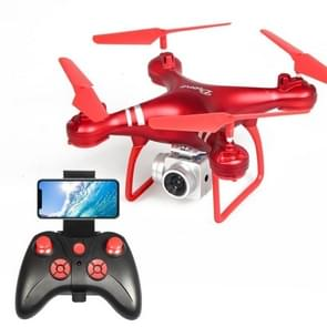 LanSenXi LF608 2.4G 4CH 500W High Definition Aerial Foldable Wifi FPV Selfie RC Helicopter Drone Quadcopter(Red)