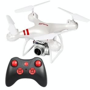 LanSenXi LF608 2.4G 4CH 500W High Definition Aerial Foldable Wifi FPV Selfie RC Helicopter Drone Quadcopter (White)