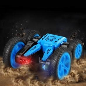 JJR/C Q71 2.4Ghz Double-sided Drive Stunt Remote Control Tumbling Truck Vehicle Toy (Blue)