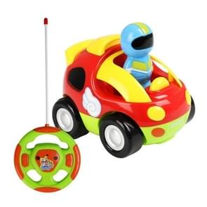 MoFun 508A Two-way Cartoon Remote Control Car Children Toy Car with Light & Music & Engine Sound(Red)