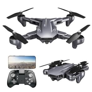 XS816 Portable Foldable Optical Flow Positioning Remote Control Aircraft RC Quadcopter Drone with 4K WIFI Double Camera (Grey)