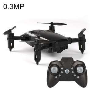 LF606 Wifi FPV Mini Quadcopter Foldable RC Drone with 0.3MP Camera & Remote Control, One Battery, Support One Key Take-off / Landing, One Key Return, Headless Mode, Altitude Hold Mode(Black)