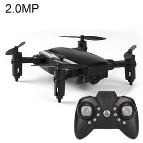 LF606 Wifi FPV Mini Quadcopter Foldable RC Drone with 2.0MP Camera & Remote Control, One Battery, Support One Key Take-off / Landing, One Key Return, Headless Mode, Altitude Hold Mode(Black)