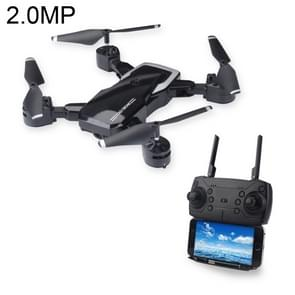 LF609 Foldable Wifi FPV RC Drone Quadcopter with 2.0MP Camera, One Battery, Support Forwards & Backwards, 360 Degrees Rotating, Altitude Hold Mode (Black)