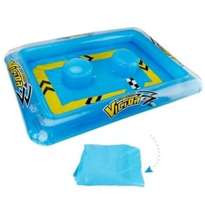 Water Play Fun Inflatable PVC Regatta Racing Pools Shallow Pool for Mini RC Boat, Inflated Size: 117*81*13cm