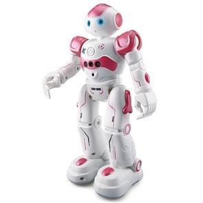 JJR/C R2 CADY WIDA RC Robot Gesture Sensor Dancing Intelligent Program Toy Gift for Children Kids Entertainment with Remote Control(Pink)
