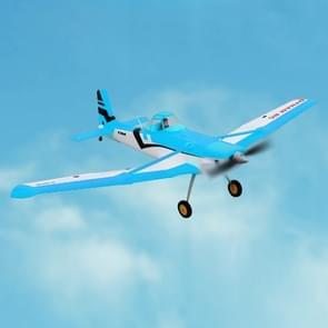 Dynam DY8967SRTF Cessna 188 gewas Duster 1500mm spanwijdte RC Trainer vliegtuig Model Airplanewith Remote Control  omvatten 2 4 GHz ontvanger met 6-assige Gyro  SRTF versie (blauw)