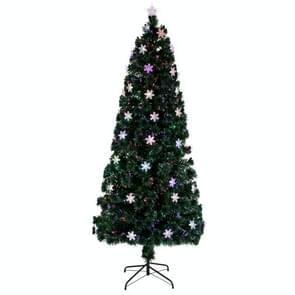 [US Warehouse] 7FT Indoor Outdoor Christmas Holiday Decoration Small Light Fiber Optic Christmas Tree met 290 takken