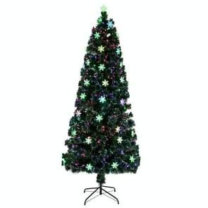 [US Warehouse] 6FT Indoor Outdoor Kerstvakantie Decoratie Kleine Lichte Glasvezel Kerstboom met 230 takken