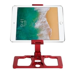 Sunnylife TY-ZJ035 Upgrade Full Aluminum Alloy Smartphone & Tablet Holder for DJI Mavic 2 / Mavic Pro / Mavic Air / Spark / Crystalsky Monitor(Red)