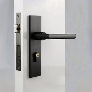 Aluminum Alloy Mute Interior Door Lock Handle Lock, Suitable Door Thickness: 35-50mm