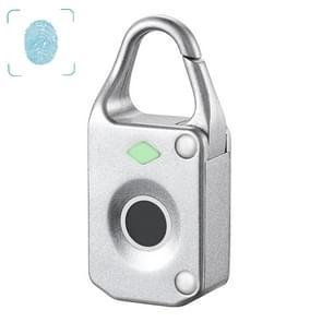 ZT10 ZT10 Locker Anti-theft Metal Fingerprint Padlock(Silver)
