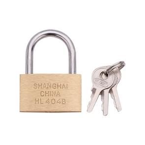 Koper hangslot small lock  stijl: Short Lock Beam  40mm niet open