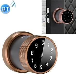 Deurslot Bluetooth Wachtwoord slot Intelligent Hangslot Elektronisch Slot  zonder vingerafdruk (Koffie)