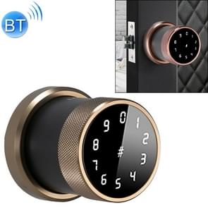 Deurslot Bluetooth Wachtwoord slot Intelligent Hangslot Elektronisch Slot  zonder vingerafdruk (Champagne Gold)