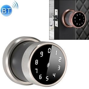 Deurslot Bluetooth Wachtwoord slot Intelligent Hangslot Elektronisch Slot  zonder vingerafdruk (Zilver)