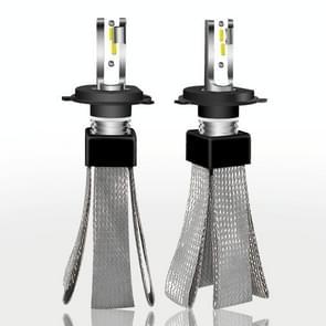 2 stk H4 30W 4000LM 6000K zuivere witte Hi/Lo balken CSP LED koplamp bollen conversie Kit  DC 9-36V