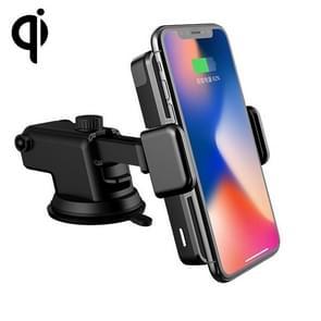 D09 Infrarood Sensing automatische Air Outlet beugel natuurlijke stofzuiger Qi standaard draadloze autolader
