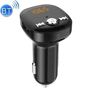 BC40 Dual USB Charging Bluetooth FM Transmitter MP3 Music Player Car Kit, Support Hands-Free Call  & TF Card & U Disk