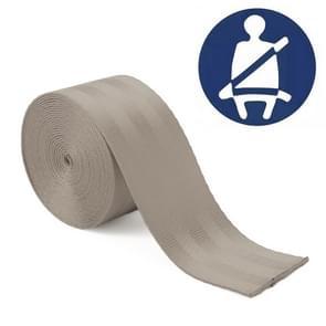 Auto gemodificeerde polyester zadel riem harnas Racing Safety veiligheidsgordel  lengte: 3.6 m (grijs)
